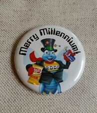 Merry Millenium Frito Lay Lay's Potato Chips Advertising Pinback Button Pepsi