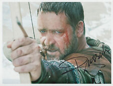 Russell Crowe Signed 8 x 10 Color Photo Autograph w/ Coa - Nice Pic & Auto !