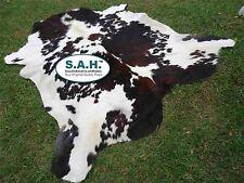 Best Sell Item Gorgeous TRICOLOR EXOTIC SAH COWHIDE RUG 6X6 $135