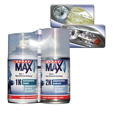 RIWAX Kit rinnovo fari in policarbonato auto 2 spray da 250 ml