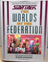 Star Trek Worlds of the Federation Hardcover Reference Book  (C5902)