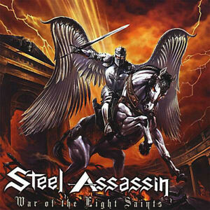 STEEL ASSASSIN War of the Eight Saints CD 11 tracks FACTORY SEALED NEW 2007 USA