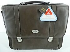 Antler Geneva Genuine Leather Laptop Bag Case New With Tags (A18)