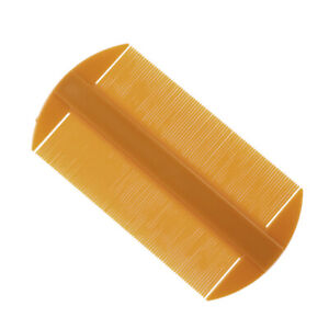 Double-edged Fine-toothed Comb Plastic Hair Comb for Head Care Pocket L0G4