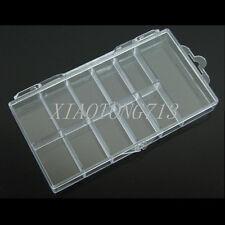 Boîte Vide Pour 100 Tips Capsules Faux Ongle Plastique Manucure Nail Art Box DIY