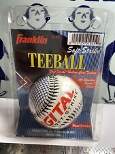 New Vintage Franklin Teeball Digital Grip Soft Strike All Weather Hand Stitched