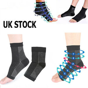 Unisex Miracle Flight Travel Compression Socks Anti Swelling Fatigue DVT Support