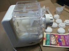 Genuine Popeil Automatic Pasta / Sausage Maker With Attachments +