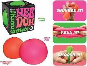 Schylling NeeDoh - Anti-Stress Toy Squishy Squeeze Soothe Relief Stretchy Ball