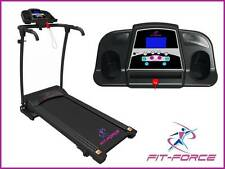 Cinta de correr plegable 1500W 0.8-14 km con MP3 y dos altavoces y sujeta iPad