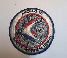 VINTAGE RARE ORIGINAL Apollo 15 Scott SEW ON EMBROIDERY CLOTH PATCH -ITEM#131