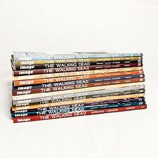 The Walking Dead comic book collection, Volumes 1-15, used, great condition