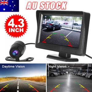 "Car Rear View Kit 4.3"" TFT LCD Monitor + IR Day/Night Parking Reversing Camera"