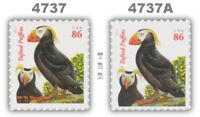 4737-37A 4737A Tufted Puffins 86c 3 oz Rate Set of 2 From 2013 MNH - Buy Now