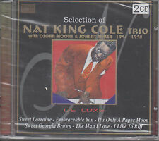 Selection of Nat King Cole 2CDs NEU Oscar Moore & Johnny Miller - The Man I love