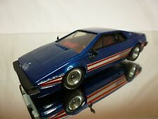 WESTERN MODELS KIT (buil LOTUS ESPRIT - BLUE METALLIC 1:43 - GOOD CONDITION