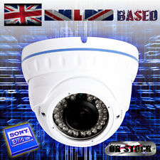 700TVL SONY EFFIO 2.8-12mm VARIFOCAL LENS 36IR EXTERNAL VANDAL PROOF CCTV CAMERA