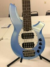 Ernie Ball Music Man Bongo 5 HH 5 String Bass Sky Blue With Case