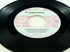 JANIE FRICKE- It Ain't Easy Bein' Easy / You Don't Know Love - NEAR MINT- 2 HITS