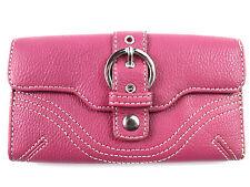 Portafogli e borsellini da donna portamonete rosso con portafoto