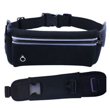 Unisex Sports Waist & Bum Bag Jogging Travel Belt Pouch Keys Mobile Cash UKES