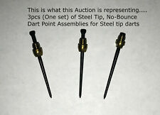 SET OF 3 MOVABLE DART POINTS -SUPERIOR TO HAMMERHEAD