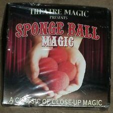 Theatre Magic Presents Sponge Ball Magic Instructional DVD Balls & Bag NEW