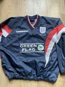 Umbro england football Jacket Size Large Mens Vintage