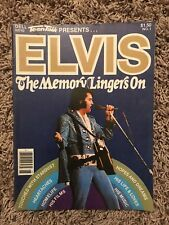 Elvis Presley the Memory Lingers On No.1 Teen Talk Presents Magazine 1979