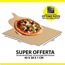 ✅ PIETRA REFRATTARIA PER FORNO  PIZZA E PANE  ✅ADATTA ANCHE PER BBQ