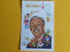 America'S First Disney Stamp,Walt Disney 6Cent Stamp  He Brought Us Mickey Mouse