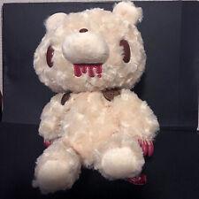 "GLOOMY BEAR Plush Doll Re: Teddy Grizzly White 25cm10"""