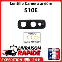 Lentille arrière appareil photo SAMSUNG GALAXY S10E E NOIR vitre Camera Lens