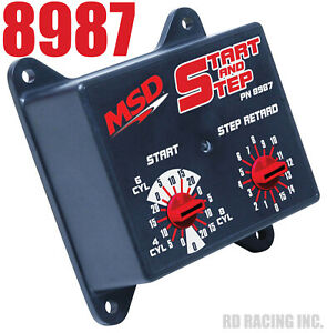 MSD 8987 Timing  Ignition Controller - Electronic Start & Step Timing Control
