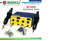 Station air chaud pistolet dessoudage rework soudure Baku BK-602D BK602D iphone