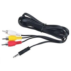 AV A/V TV Cable Cord Lead For Sony DCR-TRV480 DCR-TRV460 DCR-TRV360 DCR-TRV350 e