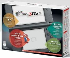 New Nintendo 3DS XL Black Edition, Handheld Console, Gaming, Touch Screen, Wifi