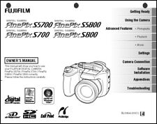 FujiFilm FinePix S700 S800 S5700 S5800 Digital Camera Owner's Manual Guide