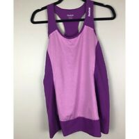 Reebok  |  Purple Racerback Athletic Tank Top  |  Size XS  |  NEW