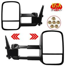 Manual Tow Side Mirrors for 99-06 Chevy Silverado GMC Sierra NBS 1500/2500/3500