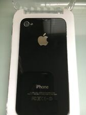 Used Apple iPhone 4  A1332 Black Cracked front Screen& back Cover. For parts