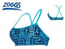 ZOGGS Womens Balconette Bikini Top Size 12 Tankini Swimwear Beachwear Crop Beach