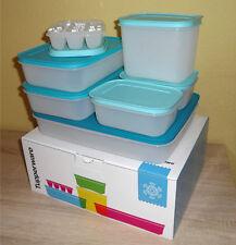 Tupperware 7x Eis-Kristall-Set Gefrierbehälter Gefrierset Gefrierdosen K46 Neu