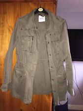 Nine brand Women's size 8 khaki coat new without tags
