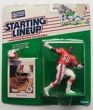 1988 ROOKIE STARTING LINEUP - SLU - NFL - JEFF DAVIS - TAMPA BAY BUCCANEERS
