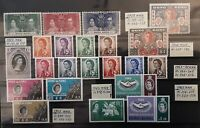 HONG KONG 1937-1972 stamp collections in Superb/XF/VF condition MNH