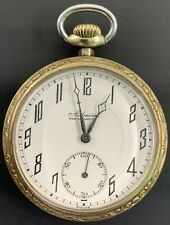 Gold Filled Pocket Watch Antique Admiral 17 Jewels