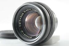 【NERA MINT】Nippon Kogaku Nikkor-H.C 5cm 50mm F/2 Lens For Nikon S Mount F/Japan