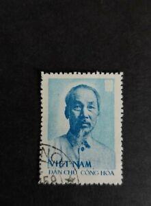 North vietnam stamp 1957 100d. Ho chi minh VGU.