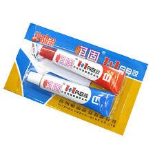 2Pcs Super Strong Epoxy Clear Glue Adhesive Resin Immediate Glue (A +B ) Craft